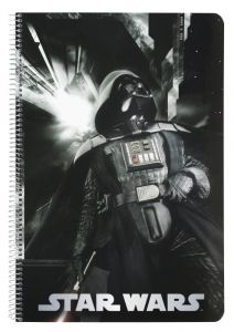 Caiet A4 80 file Star Wars Vader 31x21.5x0