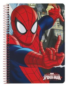 Caiet A5 80 file Spiderman 22x15.5x0