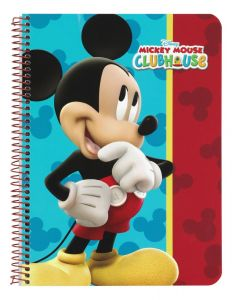 Caiet 80 file Mickey Mouse 22x15.5