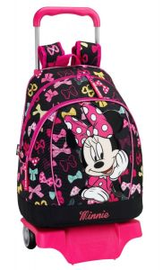 Rucsac-trolley mare MINNIE MOUSE 33x42x15