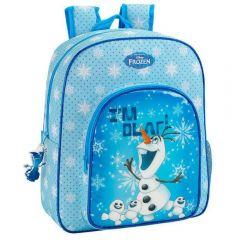 Rucsac junior cu penar OLAF bleu 38x32x12 cm