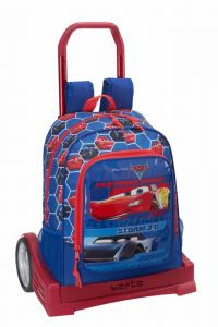 Troler Evolution baieti Cars 3,33x15x43 cm