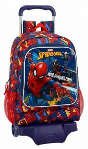 Troler baieti Spiderman,33x15x43 cm