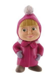 Figurina Comansi Masha & The Bear - Masha winter