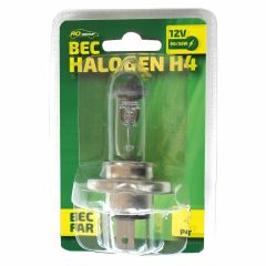 Bec auto cu halogen H4 RoGroup 12V 55W P43T 1 buc