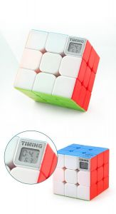 Cub Rubik 3x3x3 Incorporat cu Timer start