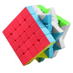 Cub Rubik 5X5x5 QIYI MoFangGe QiZheng S Profesional Stickerless , 56CUB