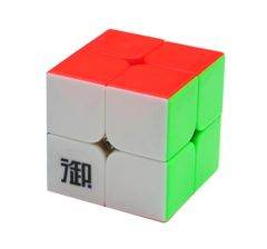 Cub Rubik 2x2x2 profesional, YuMo Cube YueHun stickerless, 75CUB