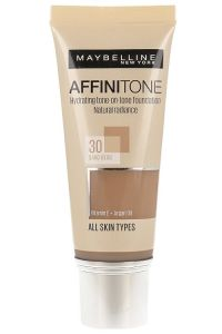 Fond de ten Affinitone Maybelline New York, 30 Sand Beige, 30ml