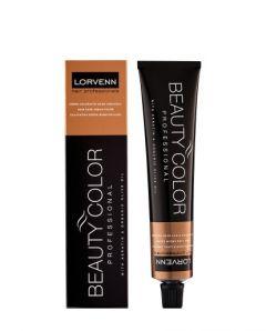 Vopsea de Par Lorvenn Professional Beauty Color Tube,Lorvenn, 2 Black , 70 ml