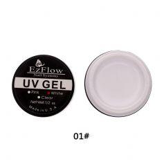Gel UV EzFlow contructie unghii - alb