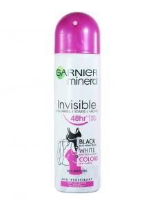 Garnier Spray deodorant 150 ml Invisible Black-White-Colors