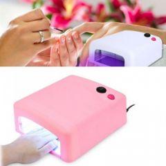 Lampa UV pentru manichiura/pedichiura - 36W - roz