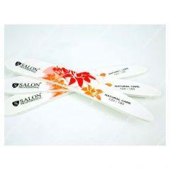 Pila unghii Salon Professional, granulatie 180/240, model floral