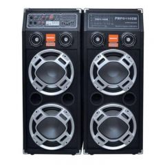 Set doua Boxe audio cu Statie , Bluetooth / USB/SD , 2 x 300 W ,Radio FM