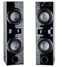 Boxe audio Akai 2.0 Home theater, USB, SD Card , 20 Hz si 20 kHz , Sensibilitate 88 dB , 4 Ohmi , Negru