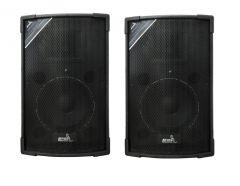 Boxe audio Pasive , Vlliodor 120W Rms , P.M.P.O  250 W , Sensibilitate  93dB±3d , Frecventa raspuns  40Hz-19kHz , Impedanta 4Ω , Negru
