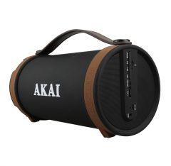 Boxa AKAI activa , Conectivitate Bluetooth, Difuzor cu 4 inch Subwoofer , Radio FM , Adaptor CA / CC inclus  , Capacitate baterie 1000mAh , Raspuns in frecventa 100Hz-20kHz , Port USB