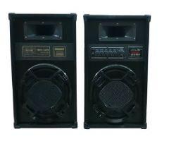 Boxe Temeisheng Active , Profesionale Audio , Conectivitate Bluetooth, RadioFM si USB 2 X 120W , 50Hz-18kHz , 4ohm  , Negru