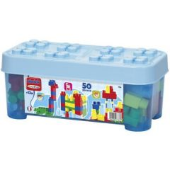 Set Ecoiffier Constructii Abrick Albastru 50 Piese