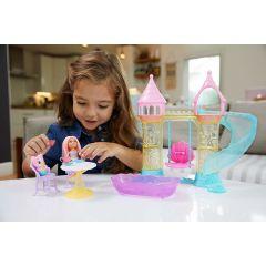 Set de joaca Barbie™, 34.3 x 7 x 26.7 cm, papusa Dreamtopia Chelsea cu figurina lui Merbear, multicolor