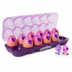 Figurine Hatchimals Colleggtibles, 12 oua cu cofraj mov