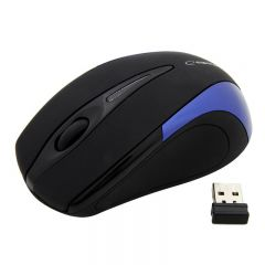 Mouse Wireless Esperanza EM 101B, USB, 2.4 Ghz, Negru