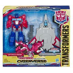 Figurina Transformers Spark Armor - Optimus Prime, 15 cm