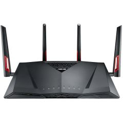 Router wireless ASUS RT-AC88U Black, AiMesh, Dual-Band AC3100 Gigabit, IEEE 802.11 a/b/g/n/ac