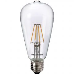 Bec LED vintage Sylvania ToLedo Retro ST64, E27, 4W (40W), 470 lm, A++, lumina calda