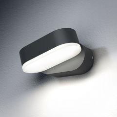Aplica LED OSRAM Endura Style Mini Spot, 8W, 320 lm, IP44, Gri, lumina calda alba