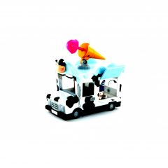 Masina de inghetata Oddbods cu figurina Pogo