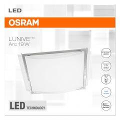 Plafoniera LED Osram Lunive Arc, 19W, 1200 lm, IP20, A++, lumina neutra (4000K)