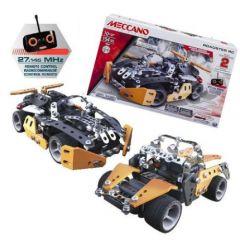 Set constructie metalic 2 in 1 Roadster RC 154 piese