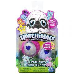 Figurine Hatchimals Colleggtibles, seria 1, 2 oua si cuib