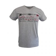 "Tricou EA47 - gri ""Rugby Football Team Premium Marine Collection"" - L"