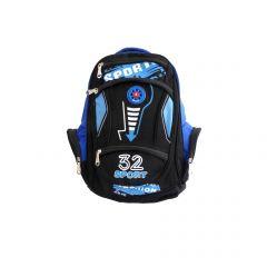 """Rucsac - Sport - negru si albastru """"32 SPORT Fashion"""""""