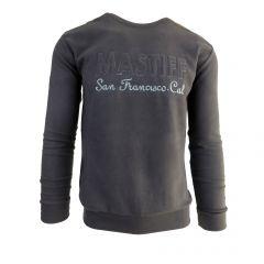 """Bluza barbat Mastiff - gri inchis """"MASTIFF San Francisco Cal."""" - L"""