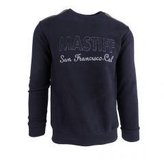 """Bluza barbat Mastiff - albastru """"MASTIFF San Francisco Cal."""" - M"""