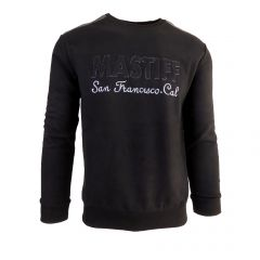 """Bluza barbat Mastiff - negru """"MASTIFF San Francisco Cal."""" - L"""