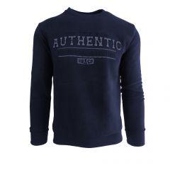 """Bluza barbat Mastiff - albastru """"Authentic - Original Sailing"""" - L"""