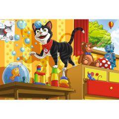 Puzzle Schmidt pentru copii 60 piese: Pisica Schmidt