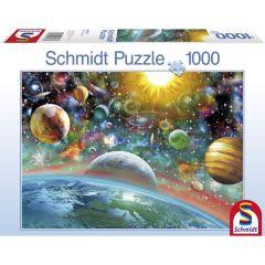 Puzzle Schmidt 1000 piese: Spațiul cosmic