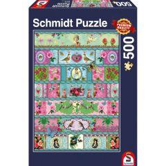 Puzzle Schmidt 500 piese: Banderoles
