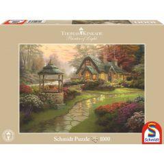 Puzzle Schmidt 1000 piese Thomas Kinkade: Conacul dorințelor