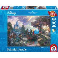 Puzzle Schmidt 1000 piese Disney Thomas Kinkade: Disney Cenușăreasa