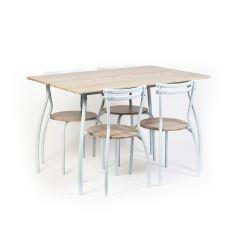 Set masa Vega cu 4 scaune