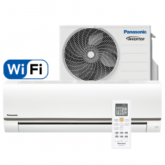 Aer conditionat Panasonic BE25TKE Wi-Fi, Inverter, 9000 BTU/h, R410a, Clasa A+, BMS Conectivity