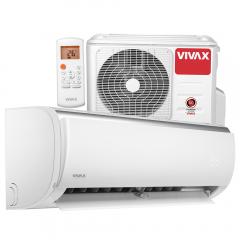 Aer conditionat Vivax ACP-24CH70AEQI Q-Design R32, Inverter, 24000 BTU/h, Clasa A++, ecran LCD, Pornire silentioasa, Sleep mode, Turbo mode, Timer, Protectie Anti-Inghet, Autocuratare, ECO-Mode