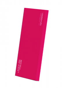 Acumulator portabil Akyta 10000 mah, Golf series G10, red